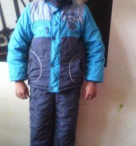 Зимней куртка и комбинезон