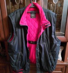 Зимняя куртка большого размера