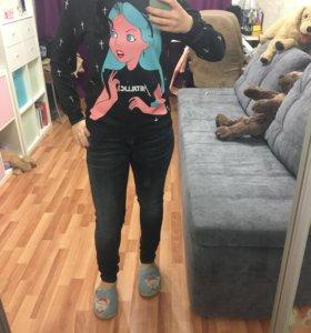 Кофта, свитшот, джинсы