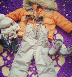 Зимний костюм+ сапожки
