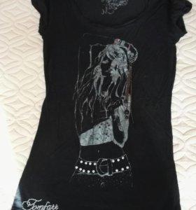 Удлиненная блуза, футболка