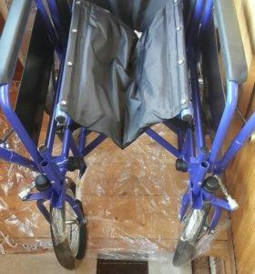 Новая коляска в сборе для инвалида