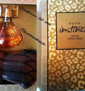 instinct avon gift set coffret cadeau