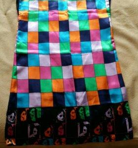Шелковое платье-туника
