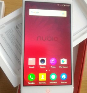 Оригинальный ZTE nubia z11 mini white 64gb silver