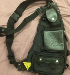 Сумка рюкзак на спину или пояс