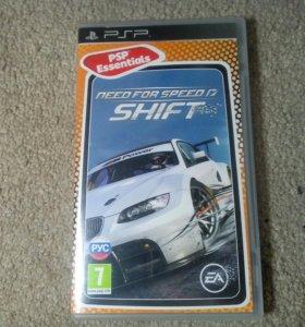 Игра Need for Speed shift для приставки PSP