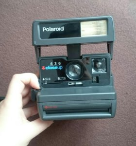 Фотокамера Полароид Polaroid 636 Closeup