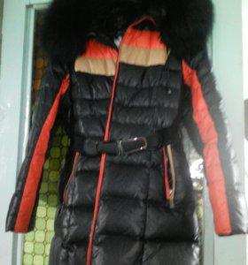 Пуховик , куртка , полупольто , пальто.