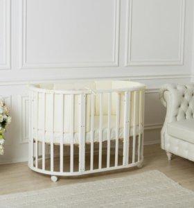 Детская кроватка Incanto Mimi 7в1