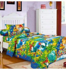 Комплект постельного белья Гномики