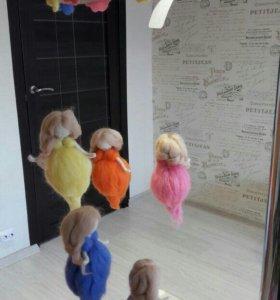 Мобиль в детскую