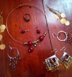 Всё : серёжки ожерелье серьги кольцо