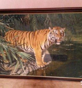 Картина Тигр (масло)