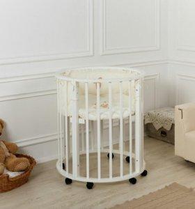 Детская кроватка Incanto Gio Delux 7в1