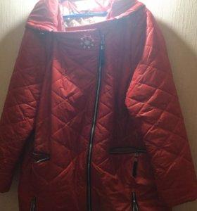 Куртка 54-58 р в отличном состоянии