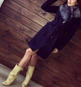 Зимнее пальто; кашемир