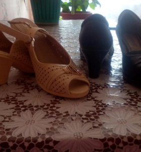 Обувь весенне- летняя