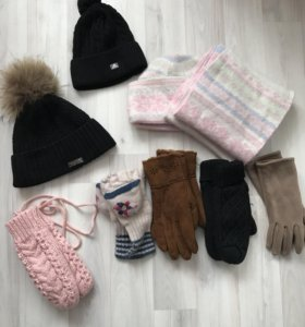 Шапка, перчатки, варежки