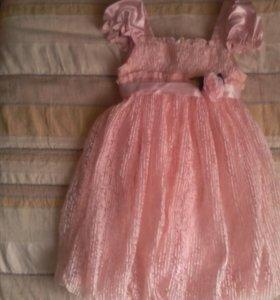 Праздничное платье 110-116 рост