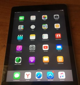 Apple iPad Air 16Gb + Cellular (Space gray)