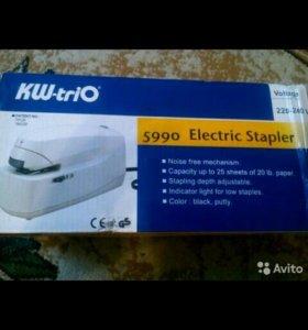 Степлер KW-trio 5990 blk электрический