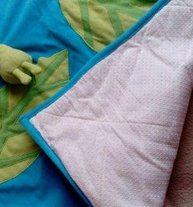 Коврик развивающий+плед и постел.белье