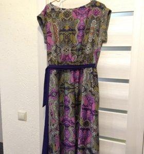 Платье длинное MANGO