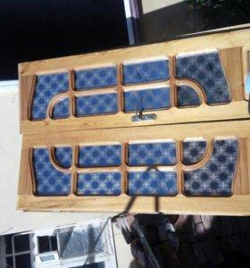 Дверь деревяная в сборе