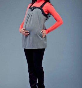Новый комплект из топа и брюк для беременных