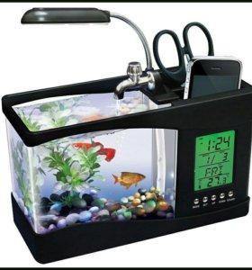 Подарок. аквариум мини