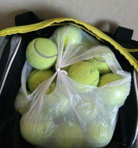 Мяч теннисный б/у, в хорошем состоянии.