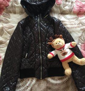 Стёганая,весенняя куртка 👍👍р-42