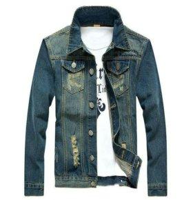 Джинсовая мужская куртка