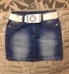 Юбка джинсовая De Salitto