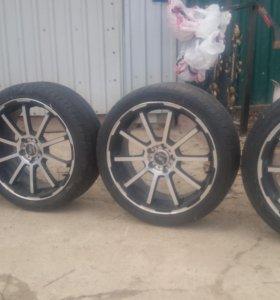 4 колеса в сборе
