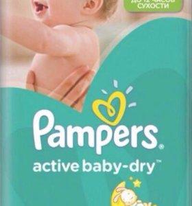 Памперсы Pampers Active baby dry 4 (70шт)