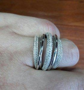 Серебряное кольцо 925проба