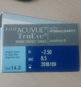 Линзы Acuvue true eye