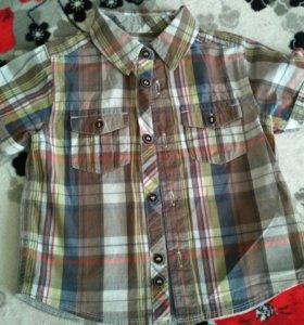 Рубашки от 1 до 2 лет