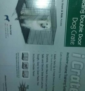 Клетка-вольер для собаки в квартиру