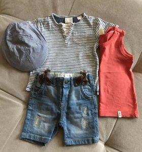 Одежда на мальчика ZARA, р.74