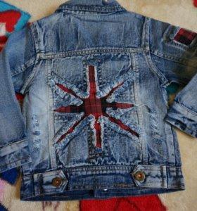 Джинсовая курточка на мальчика