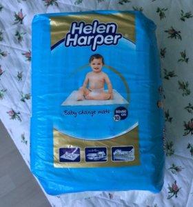 Пеленки одноразовые детские Helen Harper