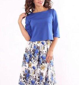 Комплект юбка + блузка (новый)