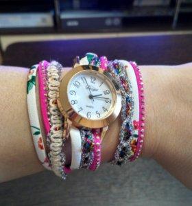 Часы с ремешком- браслетом