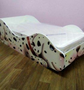 Кровать детская далматинец
