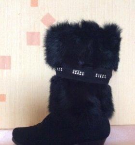 Сапожки для маленькой ножки)))