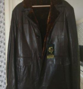 Дубленка- куртка новая!