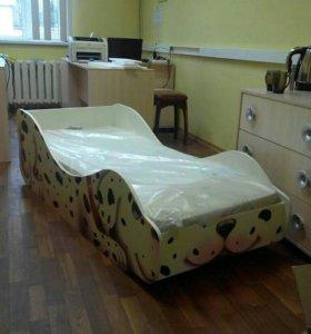 Детская Кроватка-Долматинец